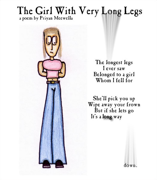 The Girl With Very Long Legs
