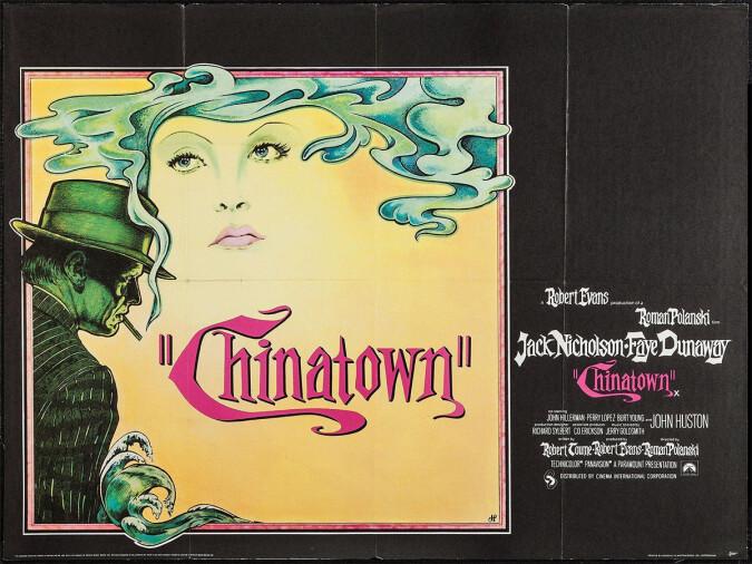 Chinatown quad poster