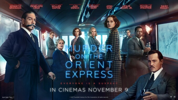 Murder on the Orient Express quad poster
