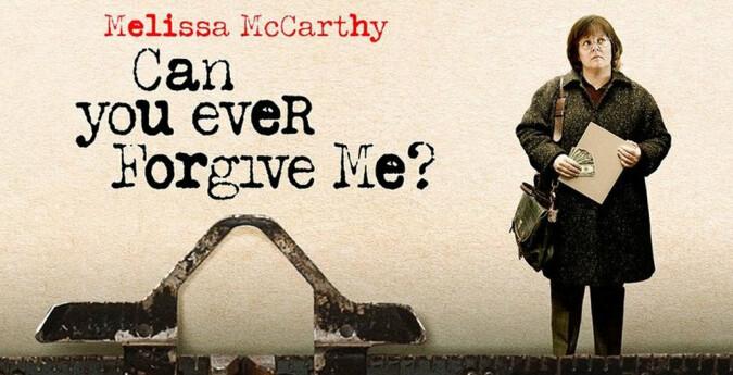 Can You Ever Forgive Me? quad poster