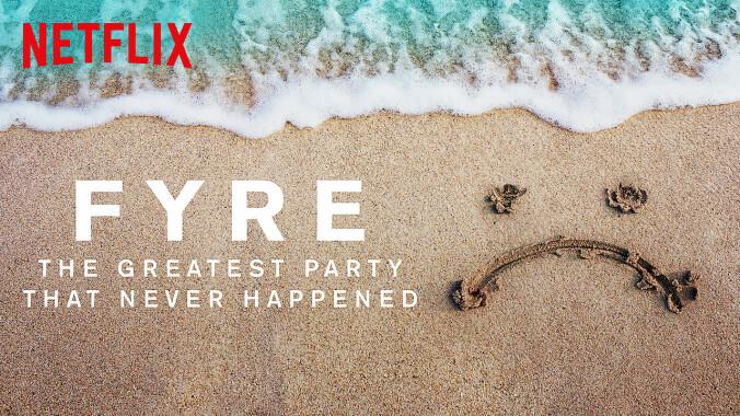Fyre documentary title
