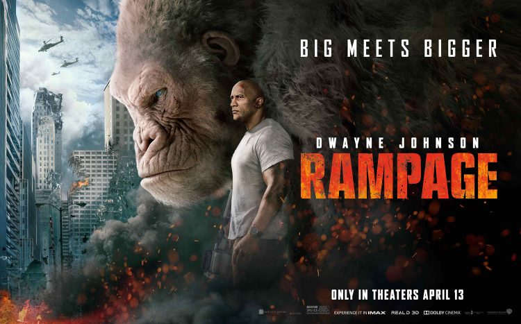 Rampage quad poster