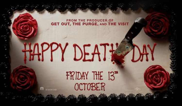 Happy Death Day quad poster