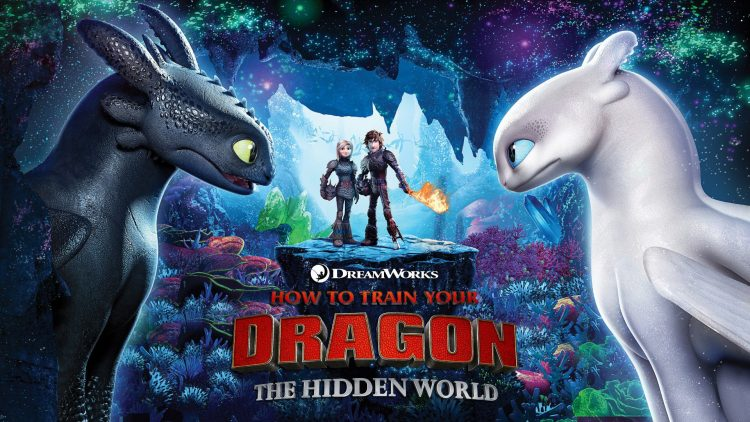 How To Train Your Dragon: The Hidden World quad poster