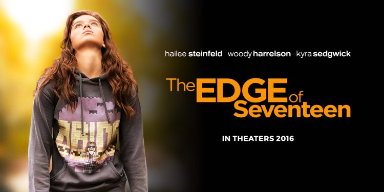 The Edge of Seventeen poster