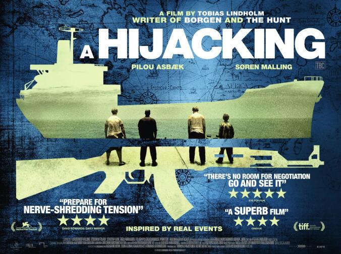 A Hijacking quad poster