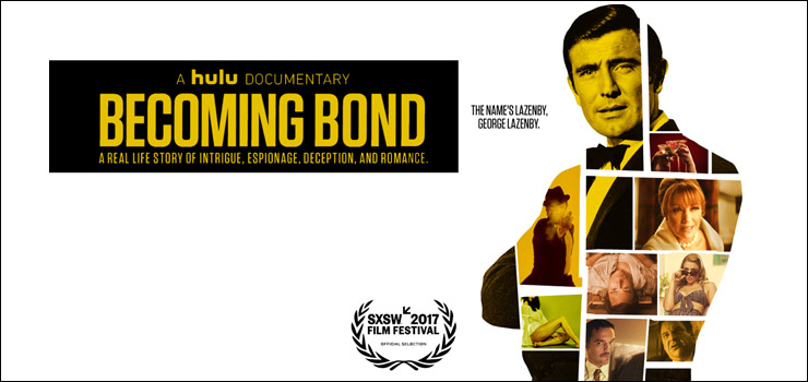 Becoming Bond quad poster