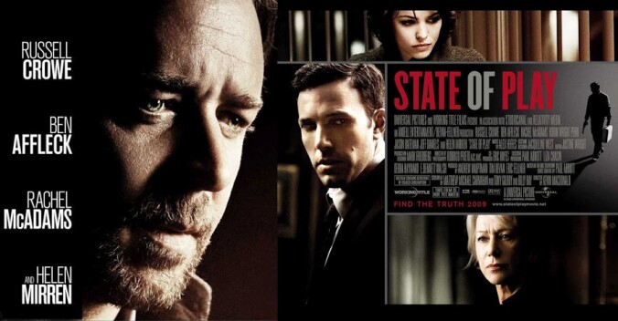 State of Play quad poster