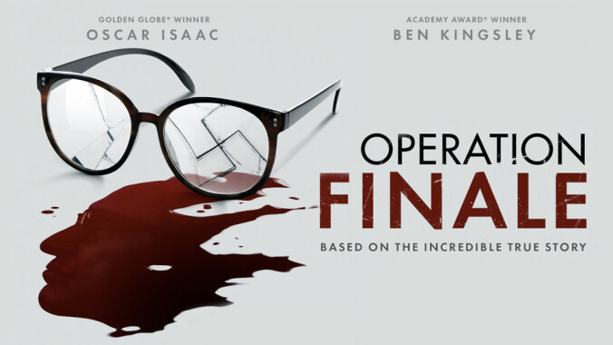 Operation Finale quad poster