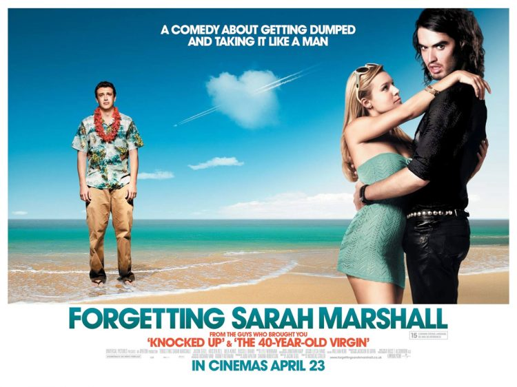 Forgetting Sarah Marshall quad poster