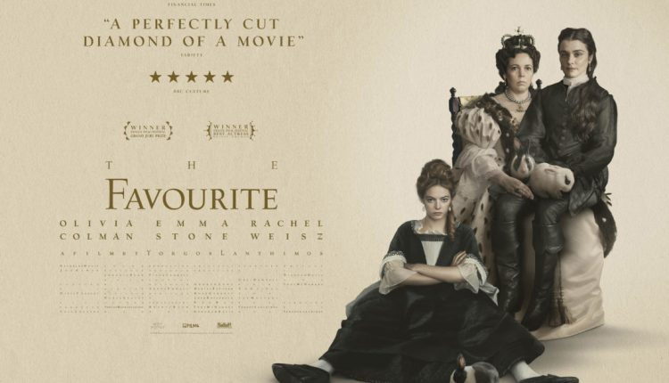 The Favourite quad poster