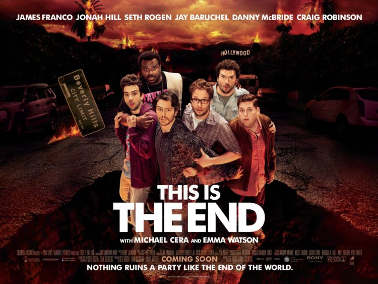 This Is The End quad poster