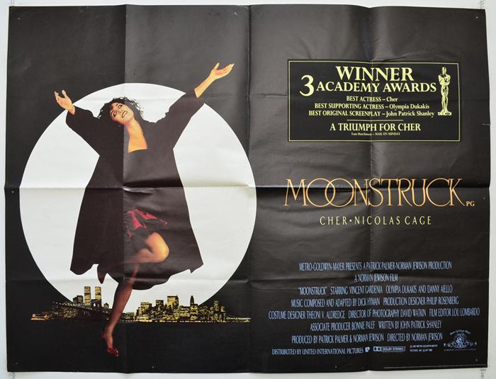 Moonstruck quad poster