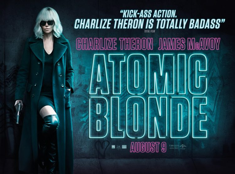 Atomic Blonde quad poster