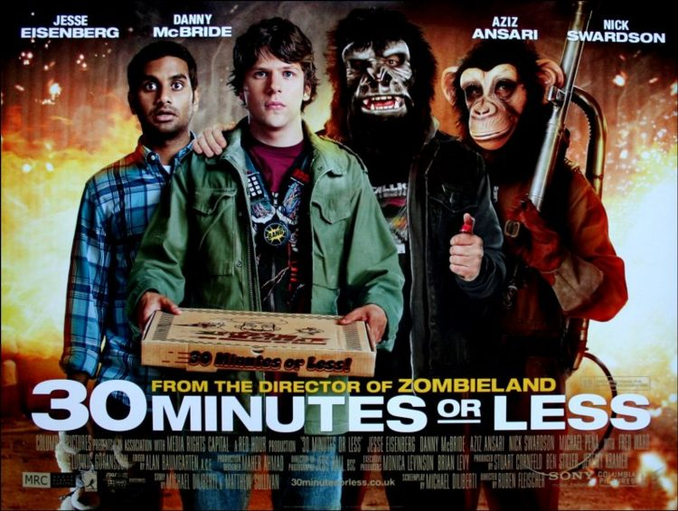 30 Minutes or Less quad poster