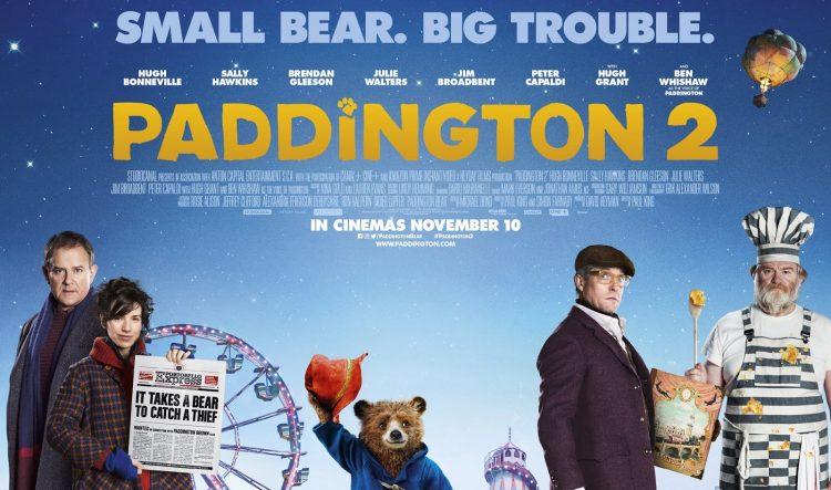 Paddington 2 quad poster