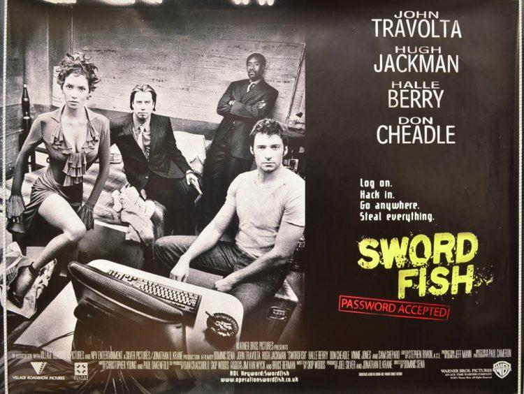 Swordfish quad poster