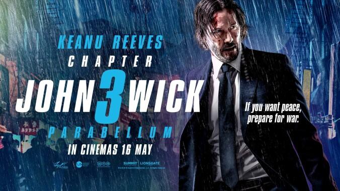 John Wick Chapter 3 poster