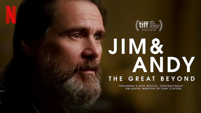 Jim & Andy poster