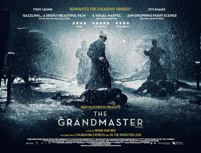 The Grandmaster quad poster