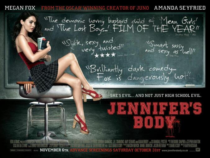 Jennifer's Body quad poster