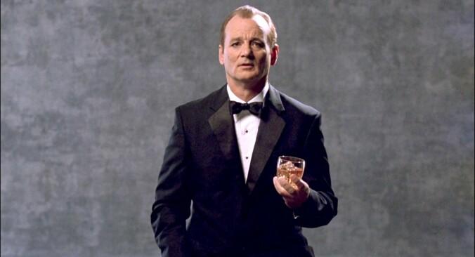 Bill Murray advertising Suntory whiskey
