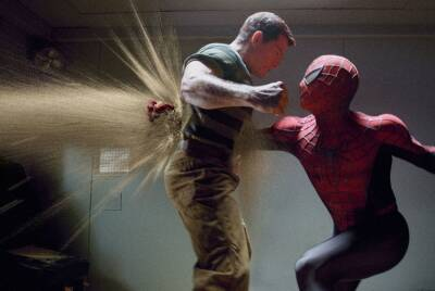 Sandman vs Spider-man