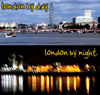 london by day/night