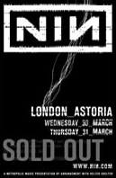 NIN With_Teeth @ The Astoria