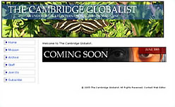 The Cambridge Globalist site proof