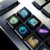 the Optimus keyboard