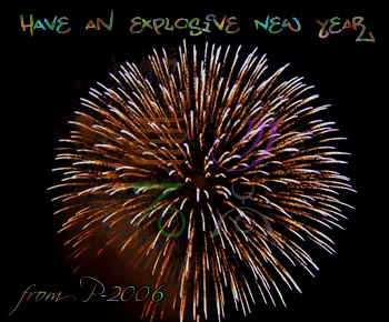 Have an explosive New Year!
