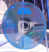 Prototype Blu-ray disc