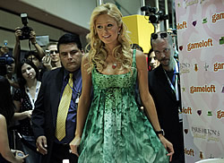 Paris Hilton at E3