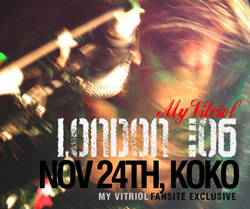 My Vitriol @ KOKO