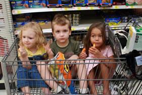 Shopping Cart Kids