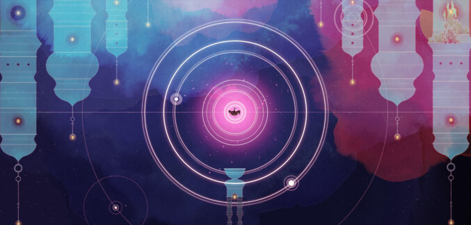 Gris screenshot - aural glow