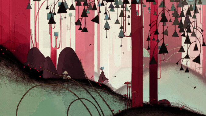 Gris screenshot - forest
