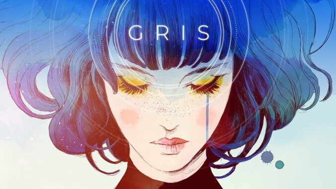 Gris title screen