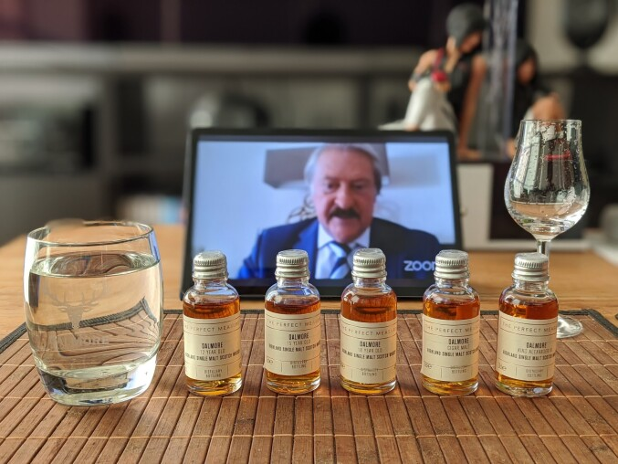 Dalmore virtual whisky tasting
