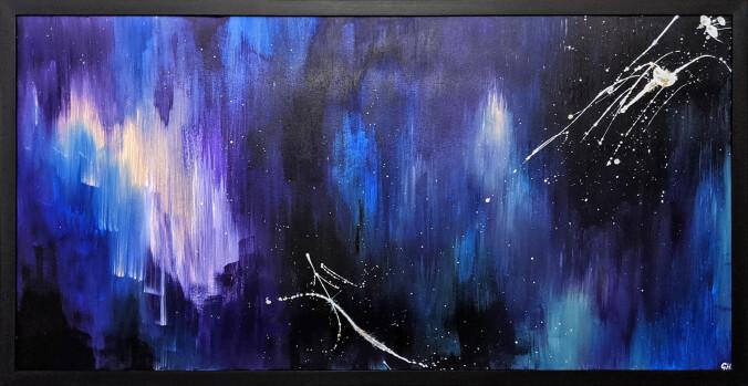 Georgina Hare painting
